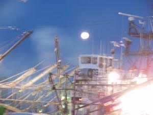 十七夜の満月